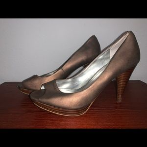 Bronze Style&co. Peep-toe Pumps